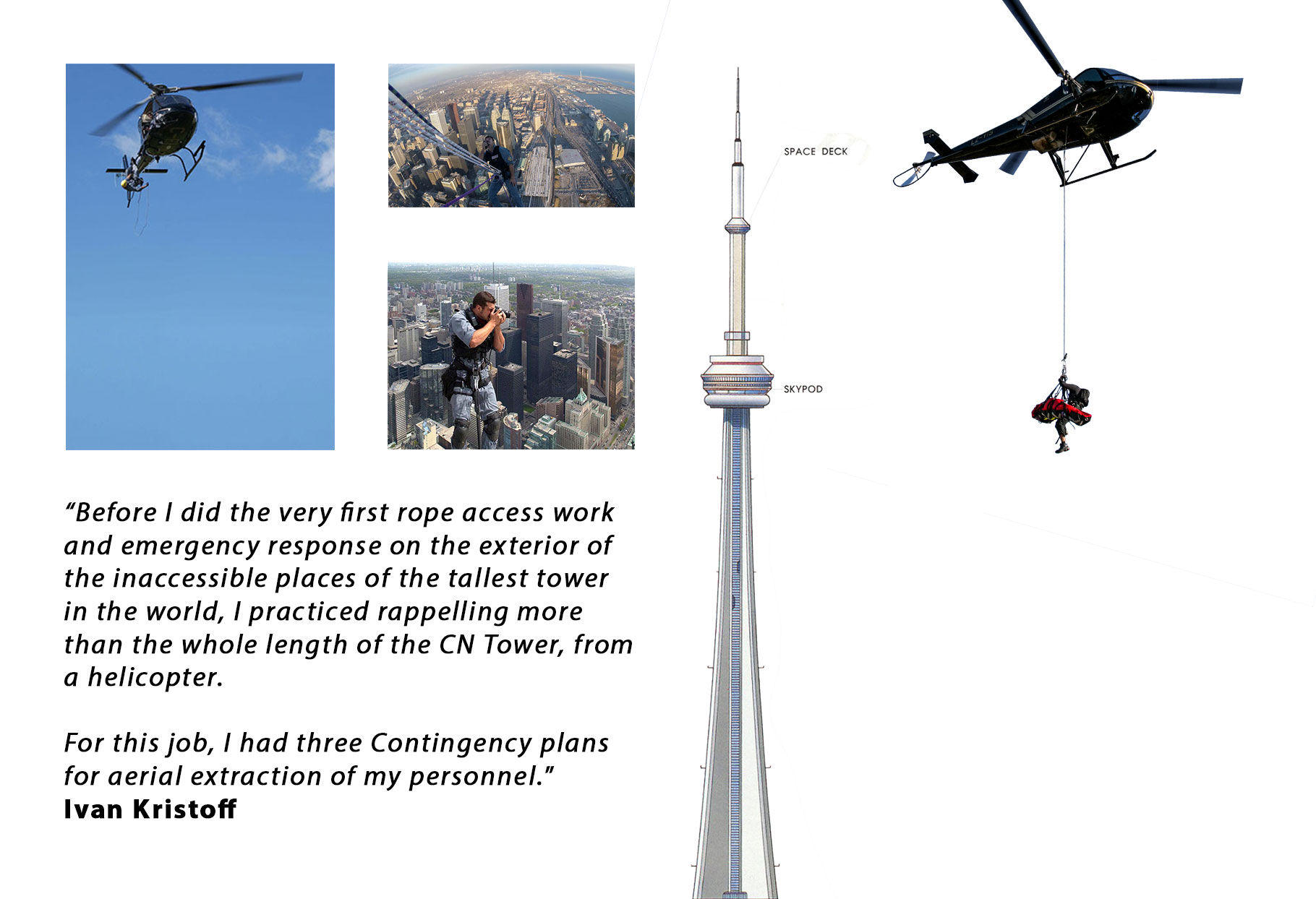 CN Tower Helicopter Emergency