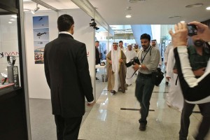 CN Tower Helicopter Emergency Photo Exhibition in Dubai