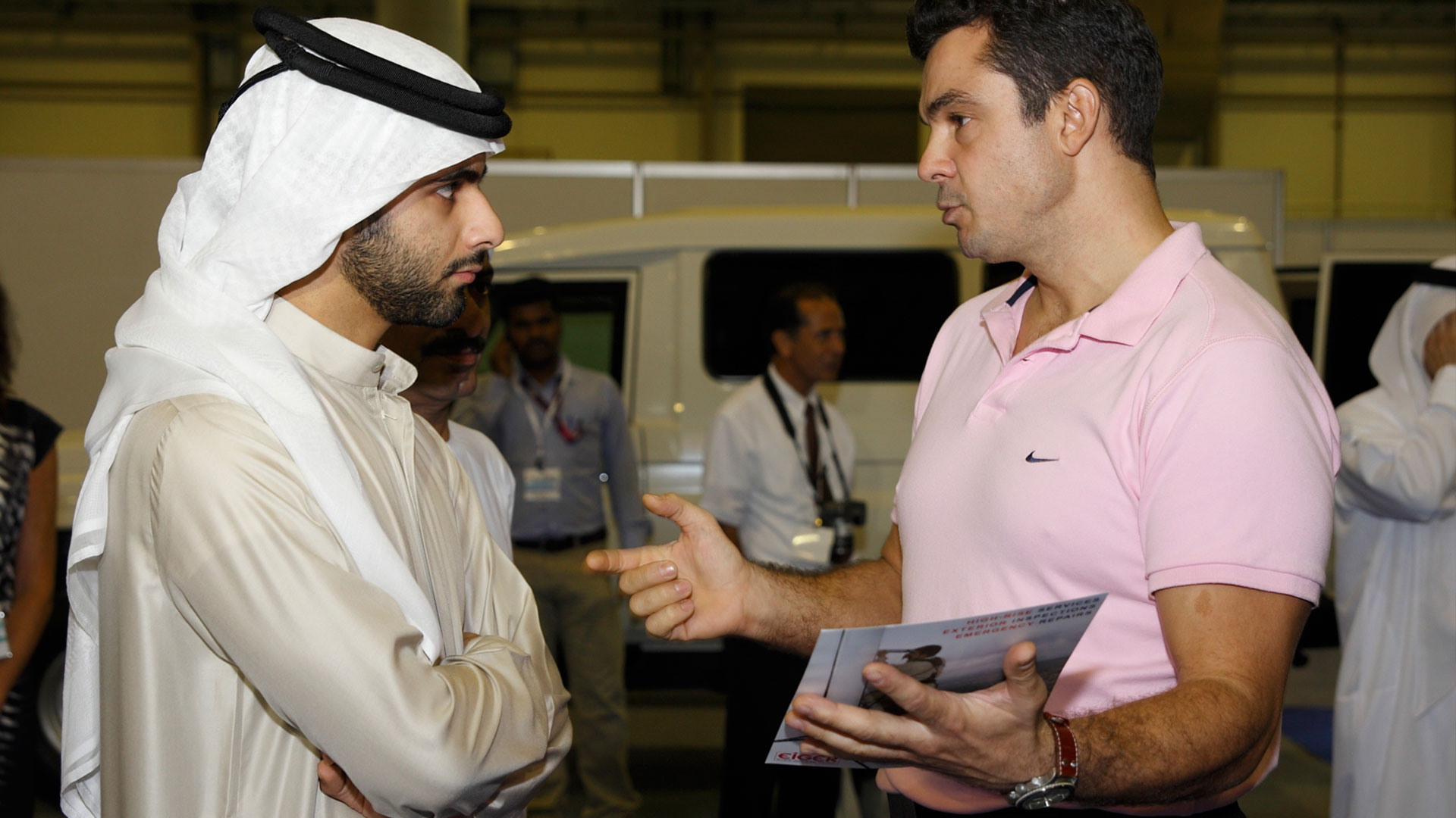 Meeting the Prince of Dubai