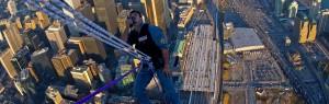 Spiderman on CN Tower