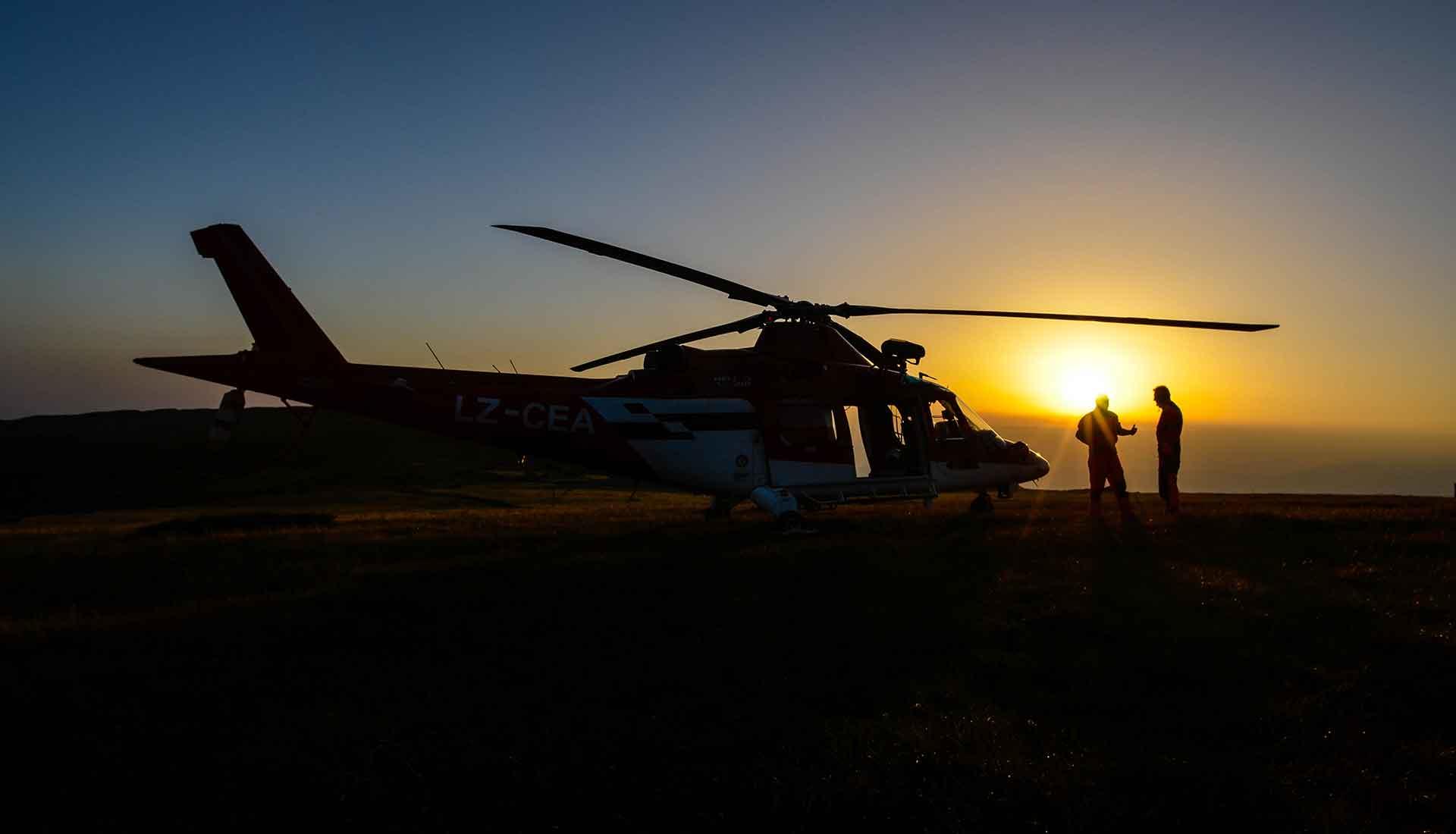 Въздушно спасяване в България